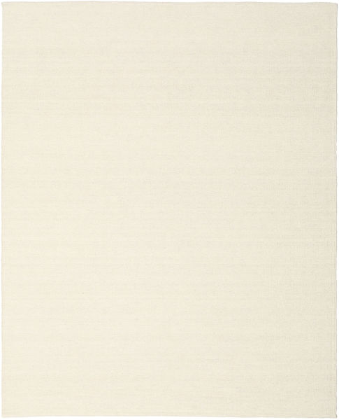 Kelim Loom - Off White Teppe 200X250 Ekte Moderne Håndvevd Beige (Ull, India)