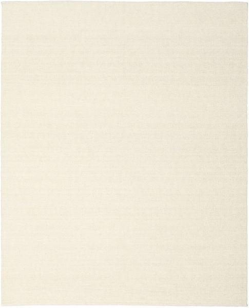 Kelim Loom - Off White Teppe 250X300 Ekte Moderne Håndvevd Beige Stort (Ull, India)