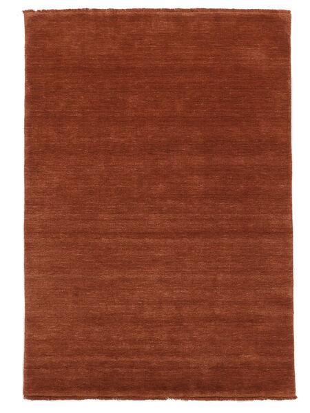 Handloom Fringes - Deep Rust Teppe 160X230 Moderne Rust/Mørk Rød (Ull, India)