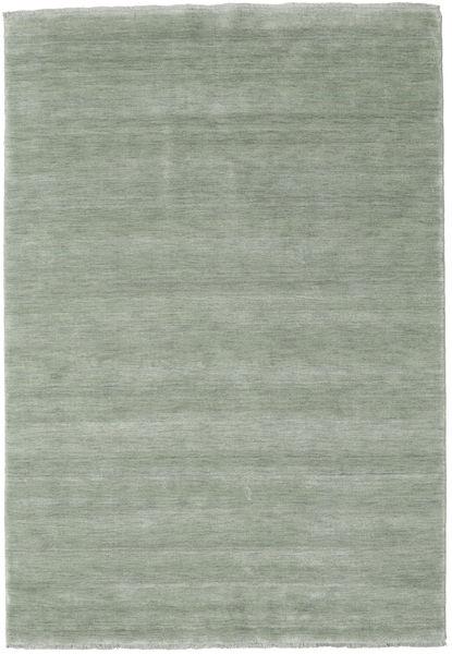 Handloom Fringes - Soft Teal Teppe 160X230 Moderne Lysgrønn (Ull, India)