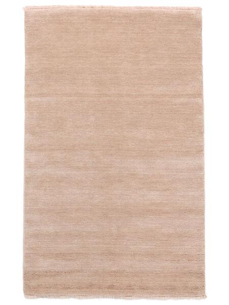 Handloom Fringes - Rosrosa Teppe 160X230 Moderne Lyserosa/Beige (Ull, India)