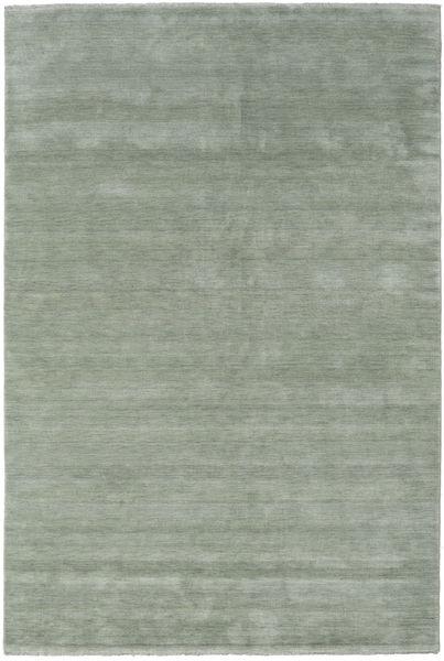 Handloom Fringes - Soft Teal Teppe 300X400 Moderne Lysgrønn/Mørk Grå Stort (Ull, India)