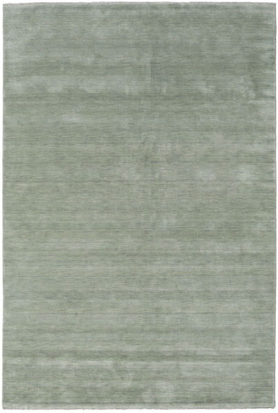 Handloom Fringes - Soft Teal Teppe 200X300 Moderne Lysgrønn/Mørk Grå (Ull, India)