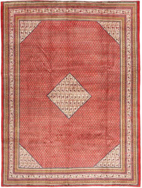 Sarough Mir Teppe 250X340 Ekte Orientalsk Håndknyttet Mørk Rød/Lysbrun Stort (Ull, Persia/Iran)