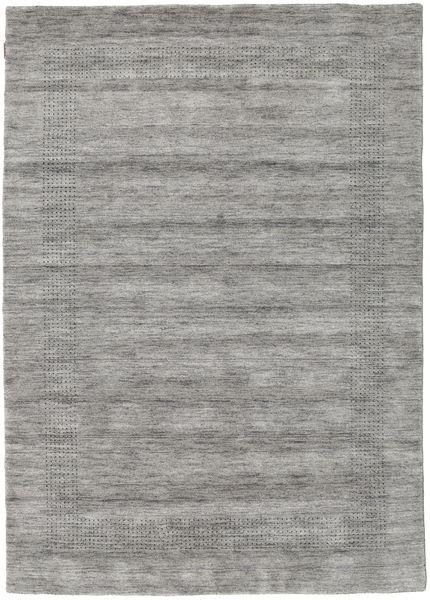 Handloom Gabba - Grå Teppe 160X230 Moderne Lys Grå/Mørk Grå (Ull, India)