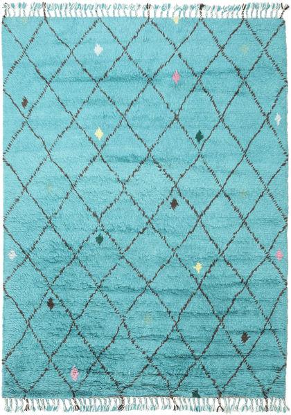 Alta - Turquoise Teppe 200X300 Ekte Moderne Håndknyttet Lys Blå/Turkis Blå (Ull, India)