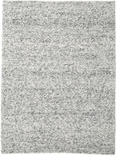 Bubbles - Melange Grå Teppe 200X300 Moderne Lys Grå/Turkis Blå (Ull, India)