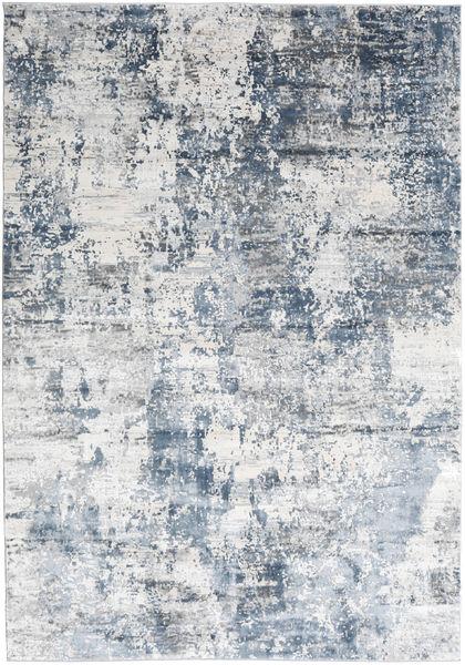 Triad - Grå/Blå Teppe 240X340 Moderne Hvit/Creme/Lys Blå ( Tyrkia)
