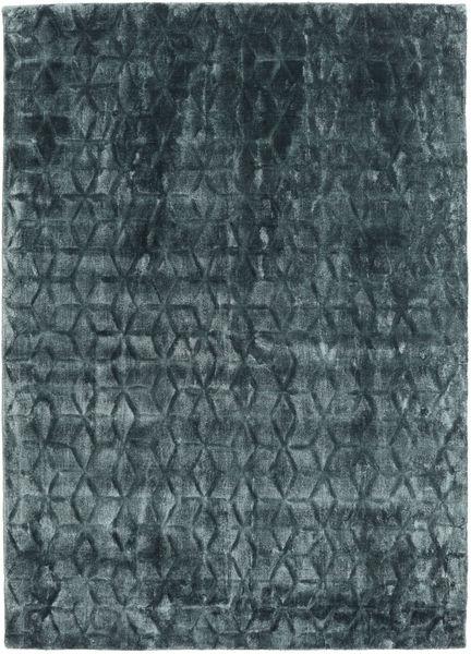 Diamond - Dark_Teal Teppe 140X200 Moderne Blå/Mørk Blå ( India)