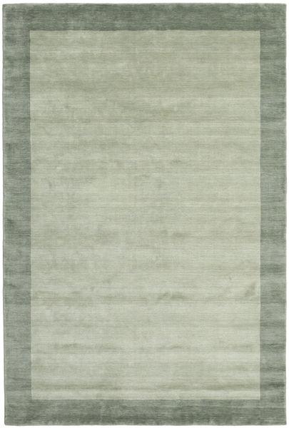 Handloom Frame - Grå/Grønn Teppe 200X300 Moderne Lysgrønn/Pastell Grønn (Ull, India)