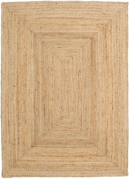 Utendørsteppe Frida - Natural Teppe 160X230 Ekte Moderne Håndvevd Mørk Beige/Beige (Juteteppe India)