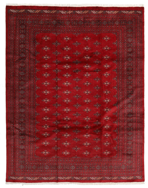 Pakistan Bokhara 3Ply Teppe 241X306 Ekte Orientalsk Håndknyttet Mørk Rød/Rød (Ull, Pakistan)