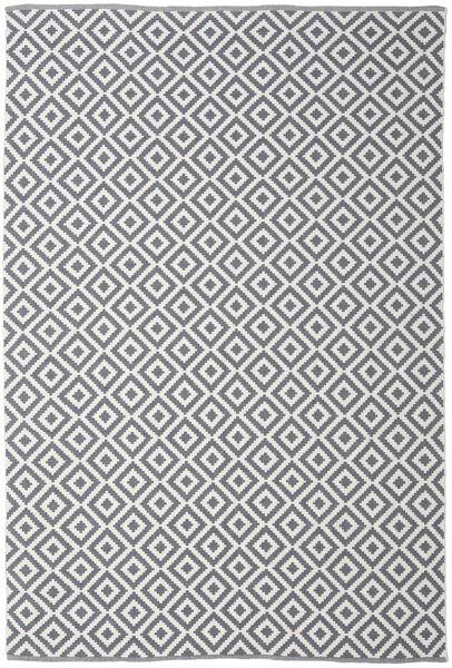 Torun - Svart/Neutral Teppe 250X350 Ekte Moderne Håndvevd Lys Grå/Mørk Grå/Beige Stort (Bomull, India)