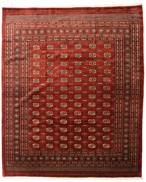 Pakistan Bokhara 3Ply Teppe 253X305 Ekte Orientalsk Håndknyttet Mørk Rød/Mørk Brun Stort (Ull, Pakistan)