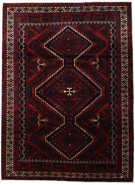 Lori Teppe 233X317 Ekte Orientalsk Håndknyttet Mørk Rød (Ull, Persia/Iran)