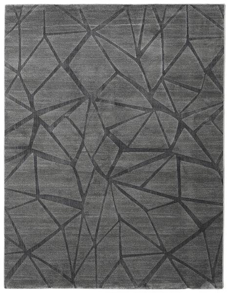 Patio - Grå Teppe 200X250 Moderne Mørk Grå/Mørk Brun ( Tyrkia)