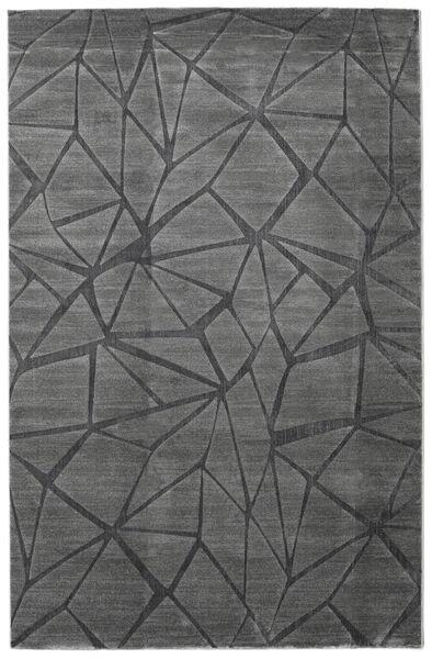 Patio - Grå Teppe 200X300 Moderne Mørk Grå/Svart ( Tyrkia)