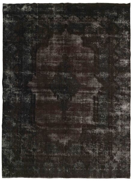 Vintage Heritage Teppe 285X382 Ekte Moderne Håndknyttet Mørk Grå Stort (Ull, Persia/Iran)