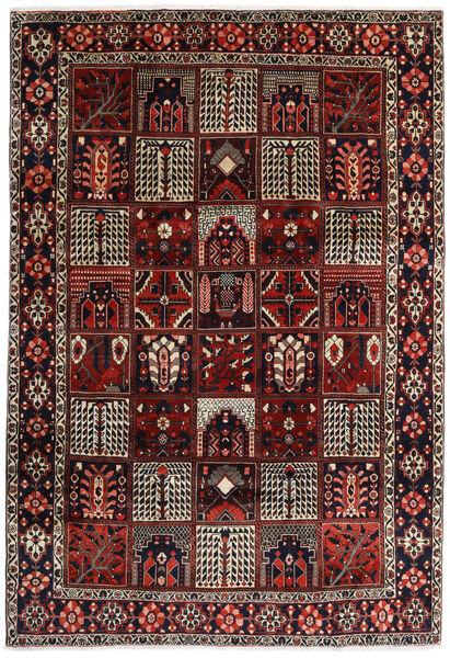 Bakhtiar Teppe 225X327 Ekte Orientalsk Håndknyttet Mørk Rød/Mørk Brun (Ull, Persia/Iran)