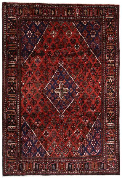 Joshaghan Teppe 242X354 Ekte Orientalsk Håndknyttet Mørk Rød/Mørk Brun (Ull, Persia/Iran)