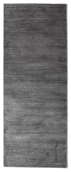 Illusion - Grå Teppe 100X250 Moderne Teppeløpere Mørk Grå/Mørk Brun ( Tyrkia)