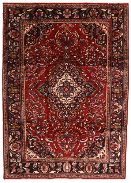Lillian Teppe 247X354 Ekte Orientalsk Håndknyttet Mørk Rød/Mørk Brun (Ull, Persia/Iran)