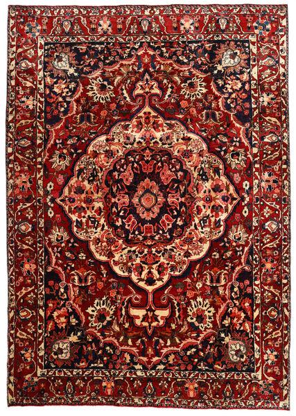 Bakhtiar Teppe 217X310 Ekte Orientalsk Håndknyttet Mørk Rød (Ull, Persia/Iran)