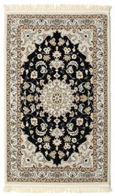 Nain Mahak Teppe 100X160 Orientalsk Lys Grå/Beige ( Tyrkia)