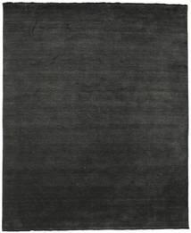 Handloom Fringes - Svart/Grå Teppe 250X300 Moderne Mørk Grå Stort (Ull, India)