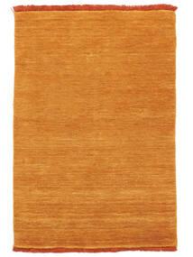 Handloom Fringes - Oransje Teppe 200X300 Moderne Gul/Lysbrun (Ull, India)