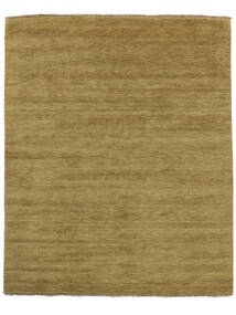 Handloom Fringes - Olivengrønn Teppe 200X250 Moderne Olivengrønn/Brun (Ull, India)