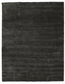 Handloom Fringes - Svart/Grå Teppe 200X250 Moderne Mørk Grå/Svart (Ull, India)