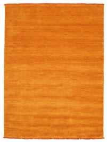 Handloom Fringes - Oransje Teppe 140X200 Moderne Orange/Lysbrun (Ull, India)