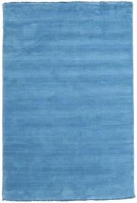 Handloom Fringes - Lys Blå Teppe 120X180 Moderne Lys Blå/Blå (Ull, India)