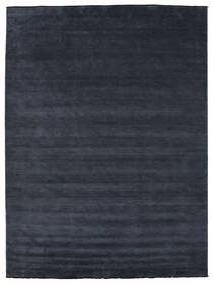 Handloom Fringes - Mørk Blå Teppe 300X400 Moderne Mørk Blå Stort (Ull, India)