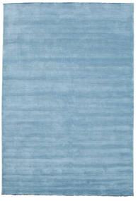 Handloom Fringes - Lys Blå Teppe 220X320 Moderne Lys Blå (Ull, India)