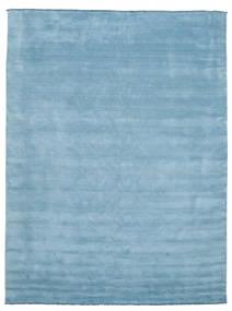 Handloom Fringes - Lys Blå Teppe 300X400 Moderne Lys Blå Stort (Ull, India)