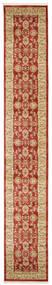 Ziegler Kaspin - Rød Teppe 80X500 Orientalsk Teppeløpere Mørk Rød/Mørk Beige ( Tyrkia)