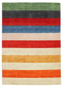 Gabbeh Indisk Stripe Teppe 160X230 Moderne (Ull, India)