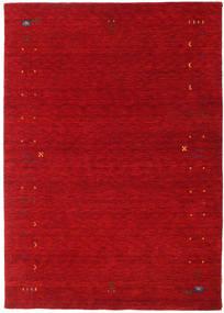 Gabbeh Loom Frame - Rød Teppe 160X230 Moderne Rød/Mørk Rød (Ull, India)
