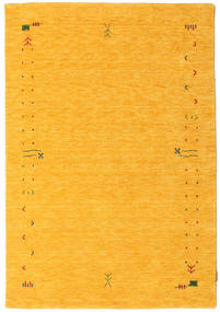 Gabbeh Loom Frame - Gul Teppe 140X200 Moderne Orange (Ull, India)