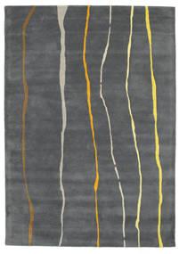Flaws Handtufted - Grå Teppe 160X230 Moderne Mørk Grå/Lys Grå (Ull, India)