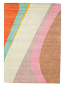 Dynamic Handtufted - Pink Teppe 160X230 Moderne Beige/Rust (Ull, India)