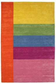 Colors By Meja Handtufted Teppe 200X300 Moderne Rosa/Gul (Ull, India)