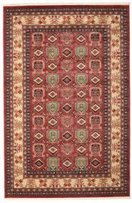Kazak Simav Teppe 200X300 Orientalsk Mørk Rød/Mørk Brun ( Tyrkia)