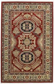 Kazak Mirvan Teppe 200X300 Orientalsk Mørk Rød/Lysbrun ( Tyrkia)
