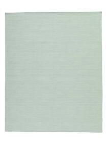 Kelim Loom - Mint Grønn Teppe 200X250 Ekte Moderne Håndvevd Pastell Grønn/Turkis Blå (Ull, India)