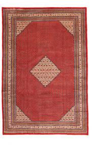 Sarough Mir Teppe 245X360 Ekte Orientalsk Håndknyttet Mørk Rød/Rød (Ull, Persia/Iran)
