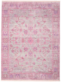 Maharani - Grå/Pink Teppe 250X350 Moderne Lyserosa/Beige Stort ( Tyrkia)