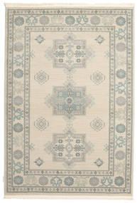 Kazak Lafayette - Cream Teppe 140X200 Orientalsk Lys Grå/Beige ( Tyrkia)